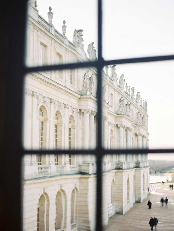 2 View out window of Versailles, France ByJacquelyn Hayward 2