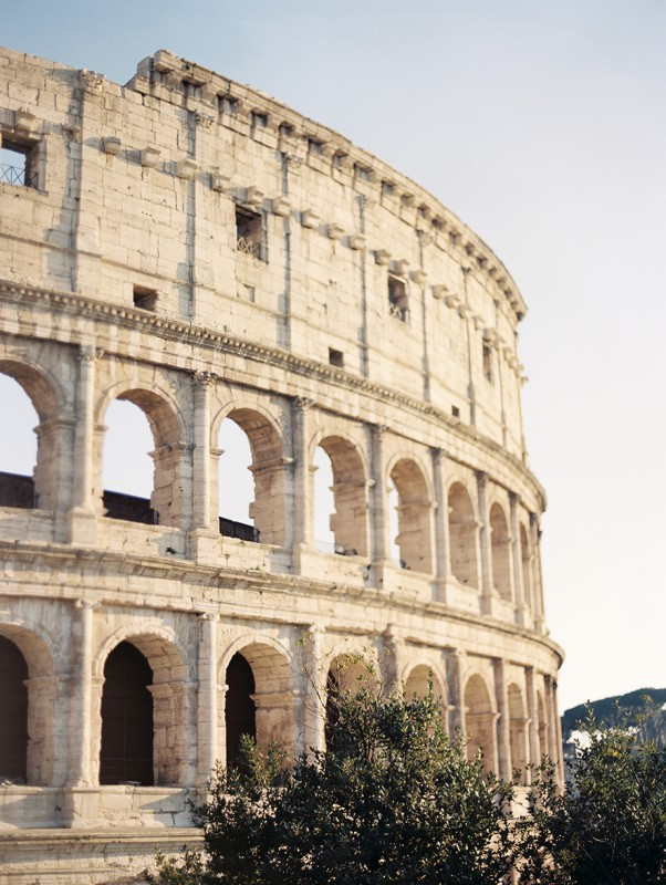 22 The coloseum in Rome at golden hour By Jacquelyn Hayward