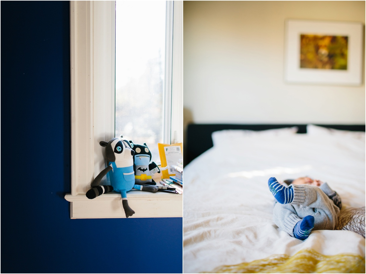 a picture of a baby's feet and nursery decor by hudson valley photographer mikki skinner
