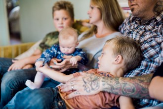 family lifestyle photo by Bernadette Madden