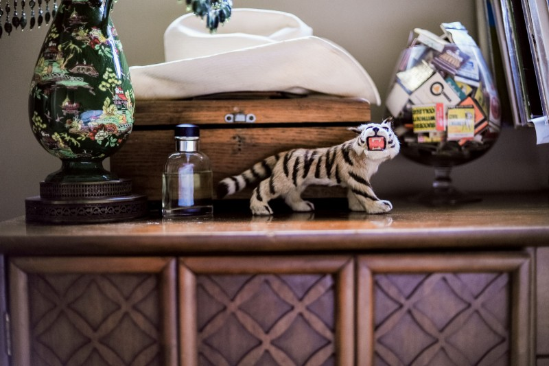 trinkets on a counter by Bernadette Madden